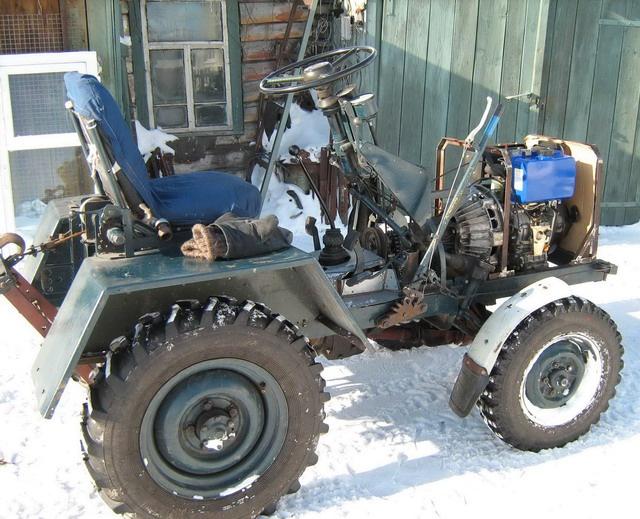Как сделать мини-трактор самостоятельно