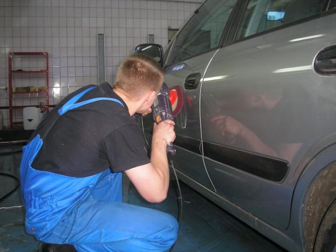Как убрать подтеки на автомобиле