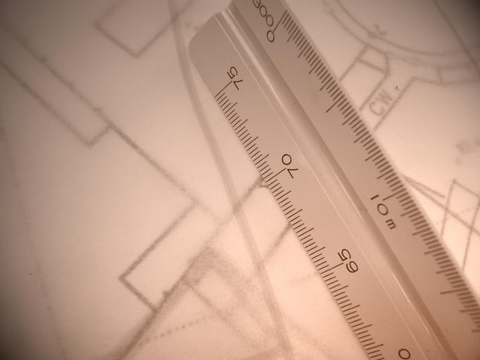 Как определить масштаб чертежа