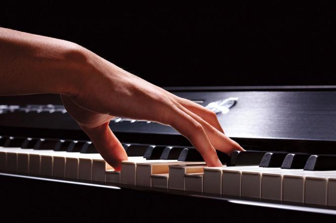 Как ставить пальцы на клавишах