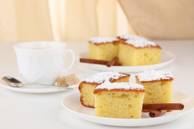 Как испечь легкой пирог