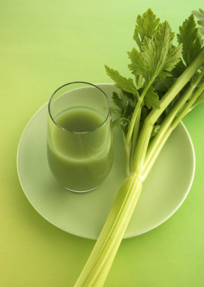 Как приготовить сок из сельдерея