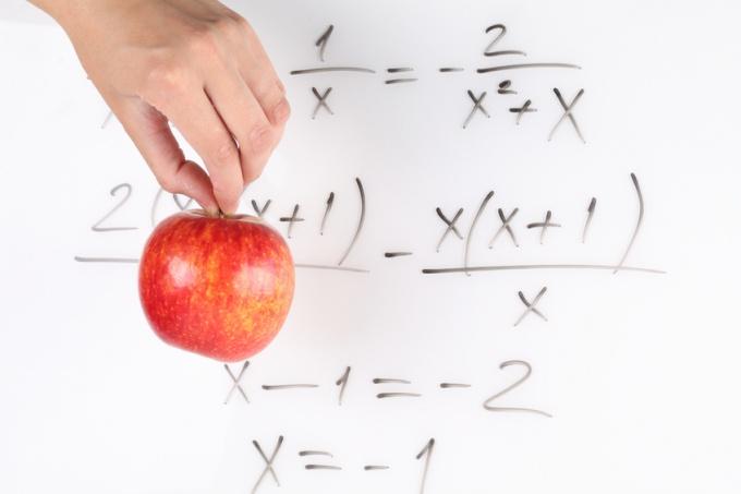 Как вычислить пропорцию