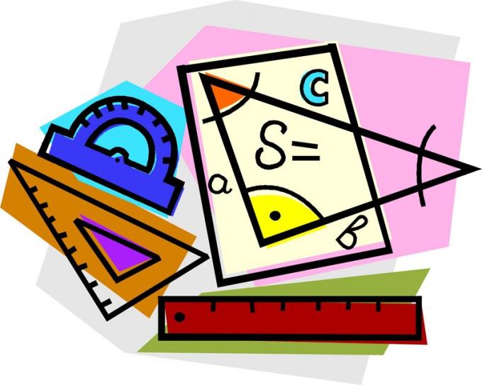 Как обнаружить угол у треугольника, если вестимы две стороны?