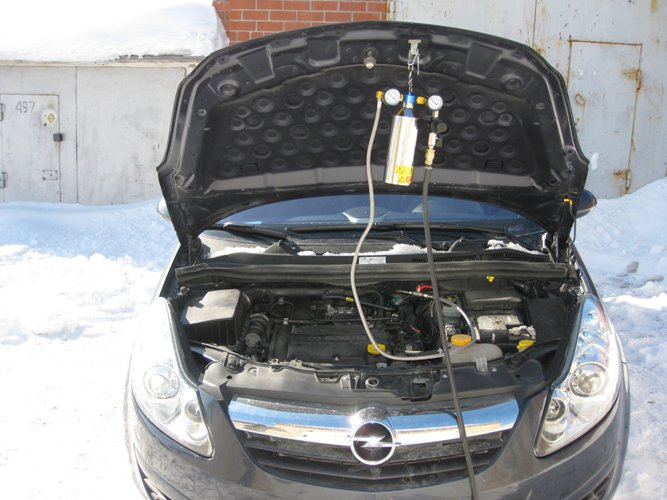 How to flush fuel system