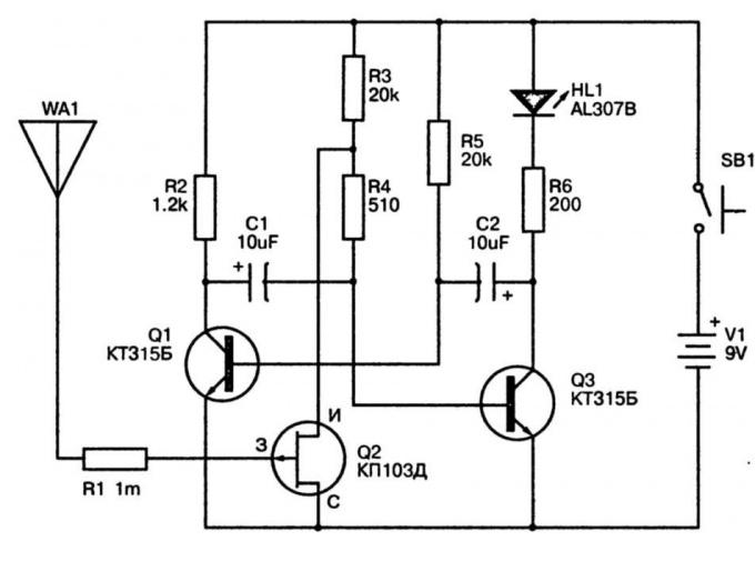 Как чертить электрические схемы