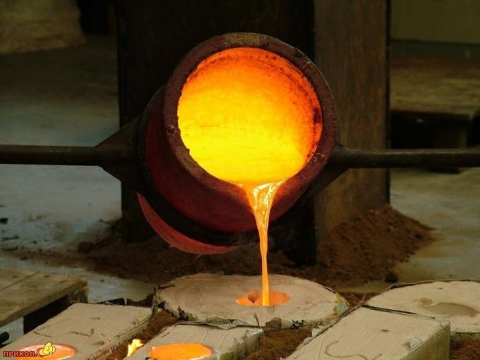 Как плавить металл