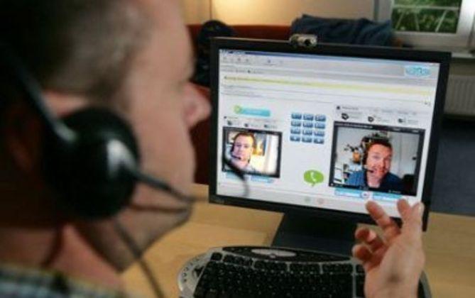 Как писать сообщения в Skype