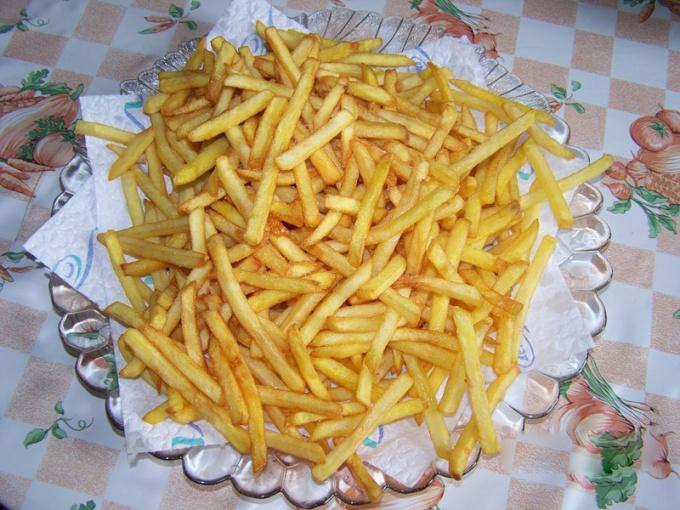 Как пожарить картофель за 5 минут