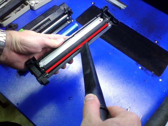 Как заправить лазерный катридж