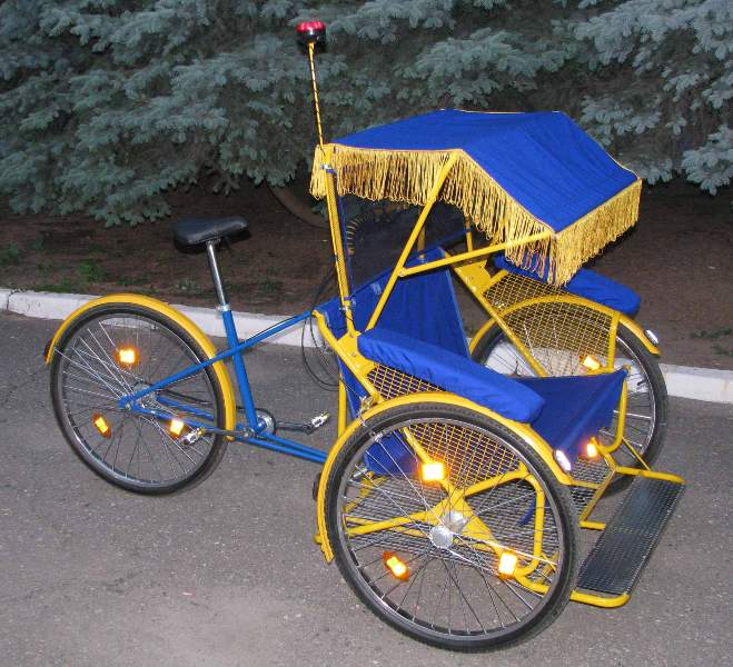 How to make a pedicab