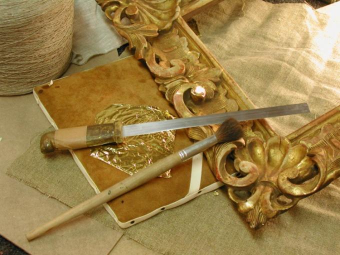 Реставрация рамы для картин своими руками
