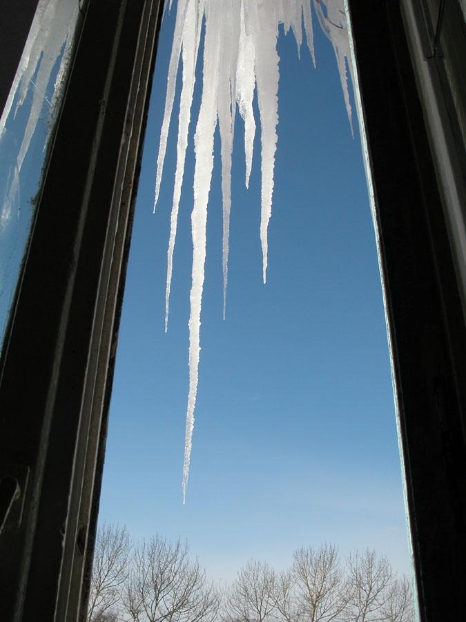 Как мыть окна зимой