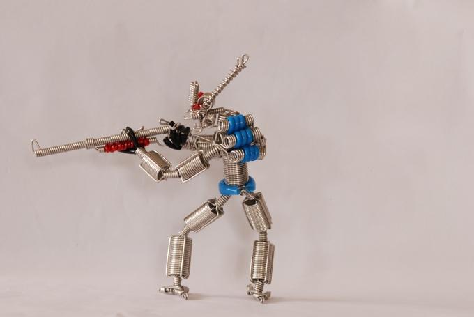 Как сделать beam робота