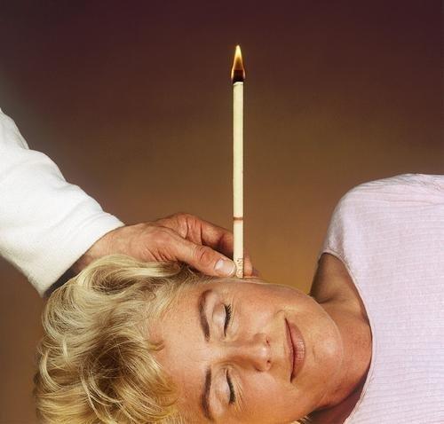 Как сделать ушные свечи