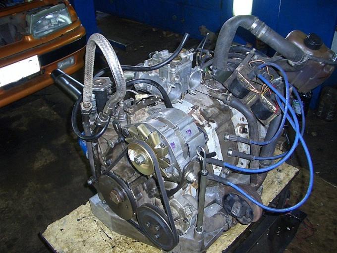 Как снять двигатель без коробки