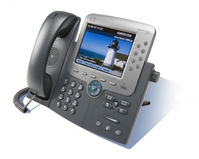 Как настроить телефон Cisco