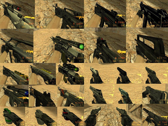 How to buy weapons in counter-strike