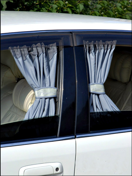 How to make blinds in the car