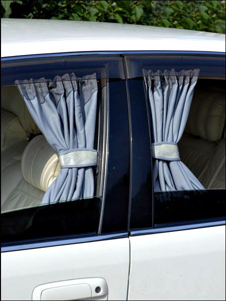 Как сделать шторки в авто