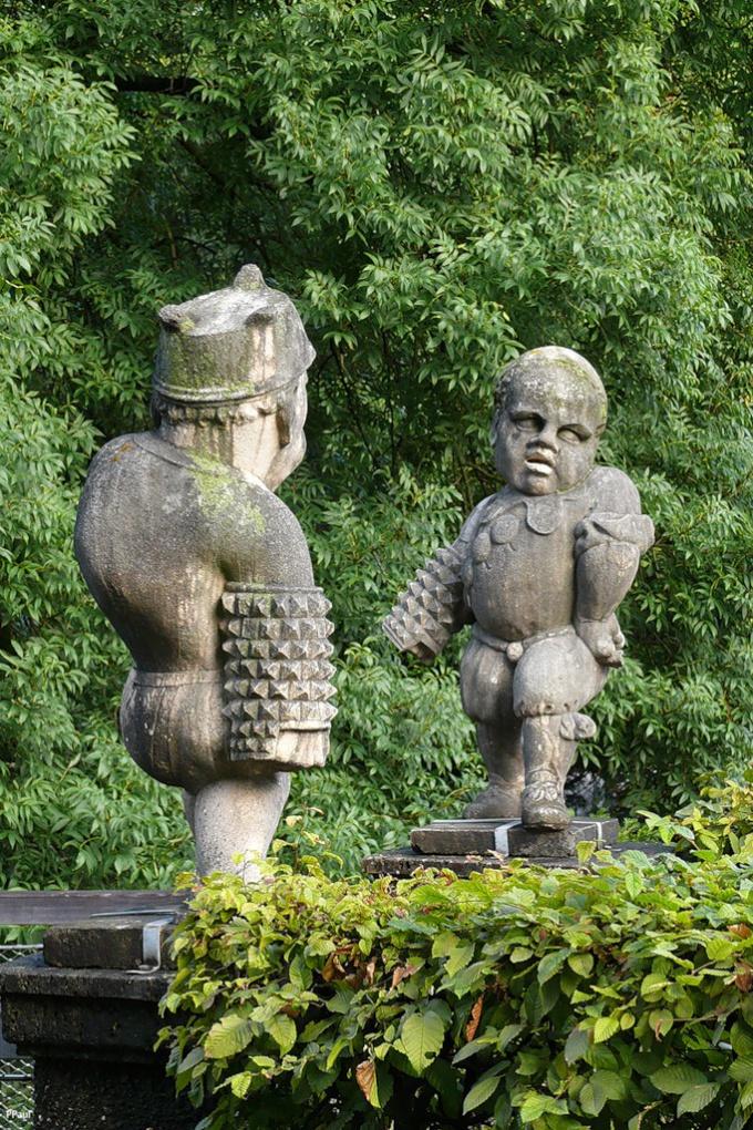Как собрать статую