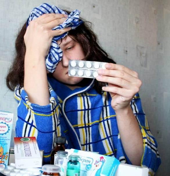 Как избавиться от гриппа
