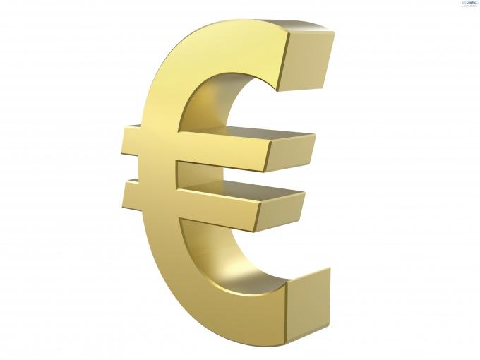 Как выставить счет в евро