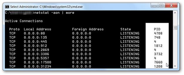 Как узнать порт ip адреса
