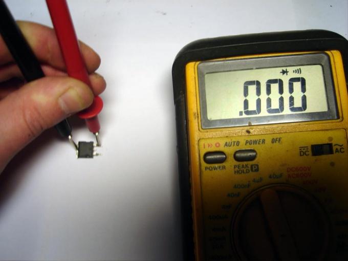 Как прозвонить полевой транзистор
