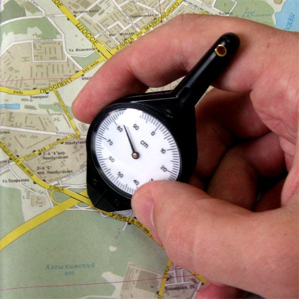 Как измерить расстояние от города до города