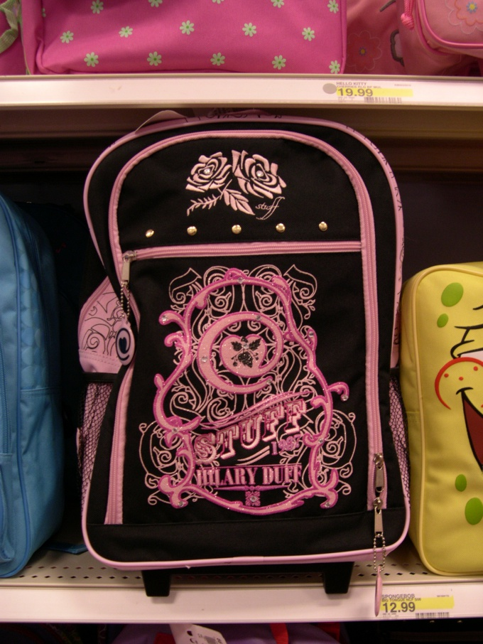 Как украсить свой портфель