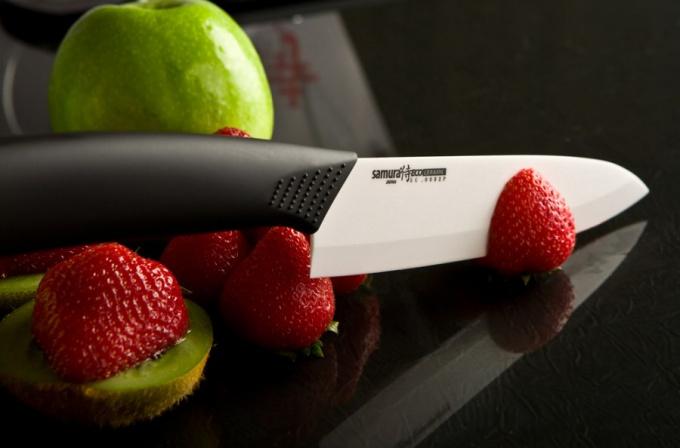 Как заточить керамический ножик