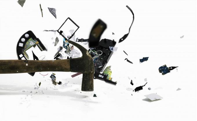 Как собрать разбитый файл