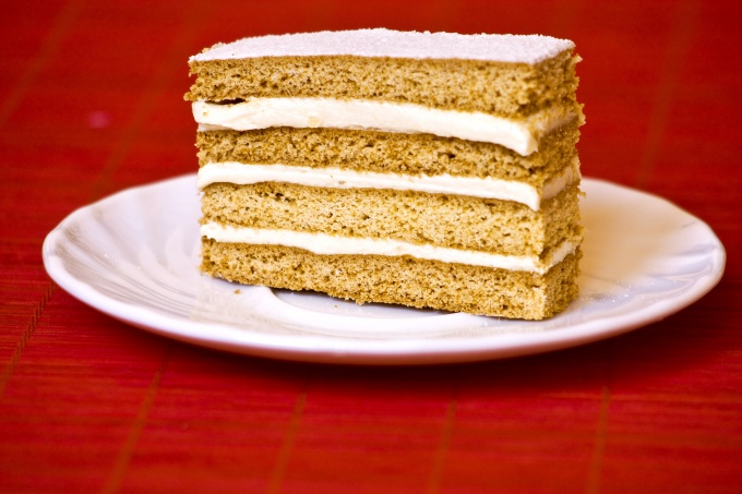 Как сделать торт из печенья
