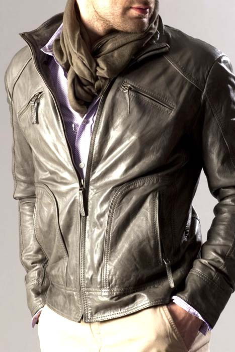 How to renew a leather jacket