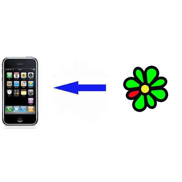 Как отправить фото по аське на телефон
