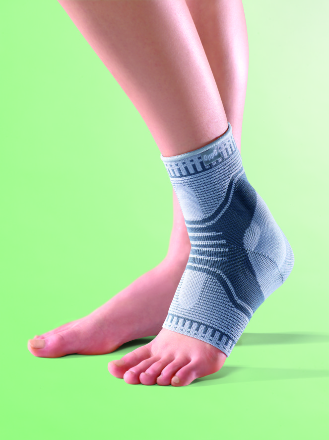 How to bandage ankle
