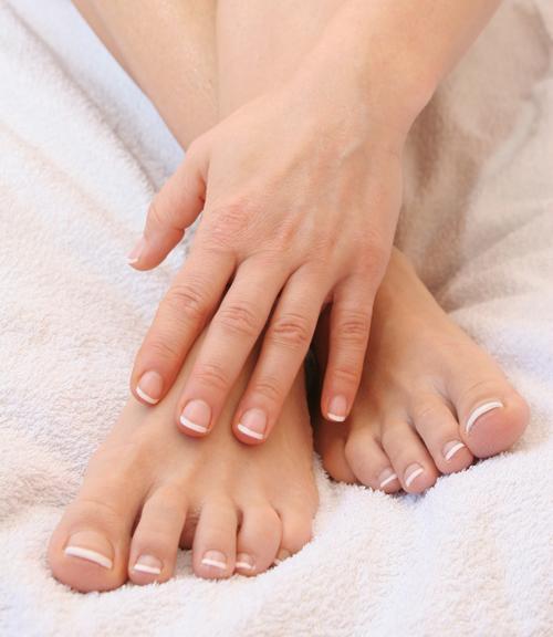 Как убрать грибок на ногах