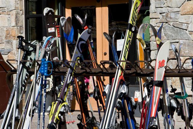 Как смолить лыжи
