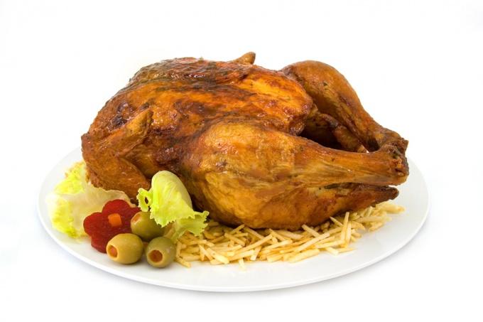 Как приготовить курицу по-простому