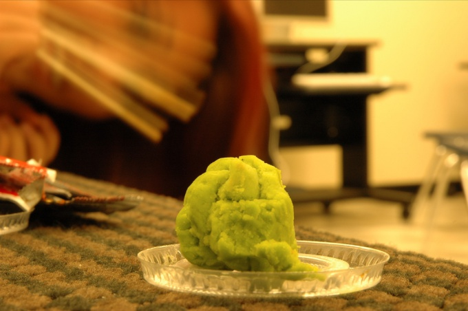 How to plant wasabi powder