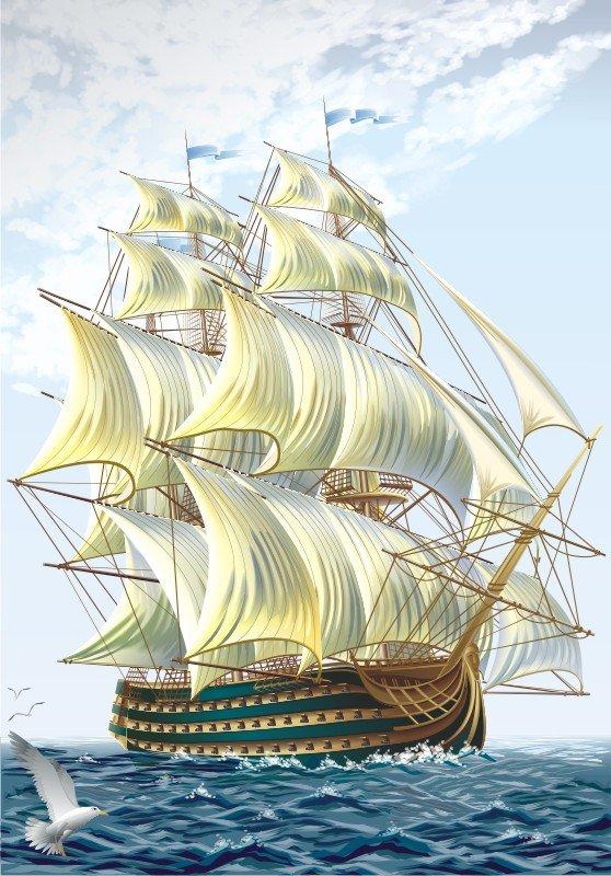 Как научиться рисовать корабли