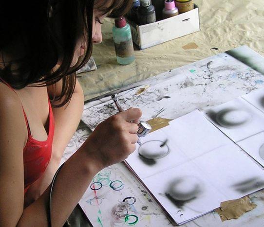 Как научиться рисовать аэрографом