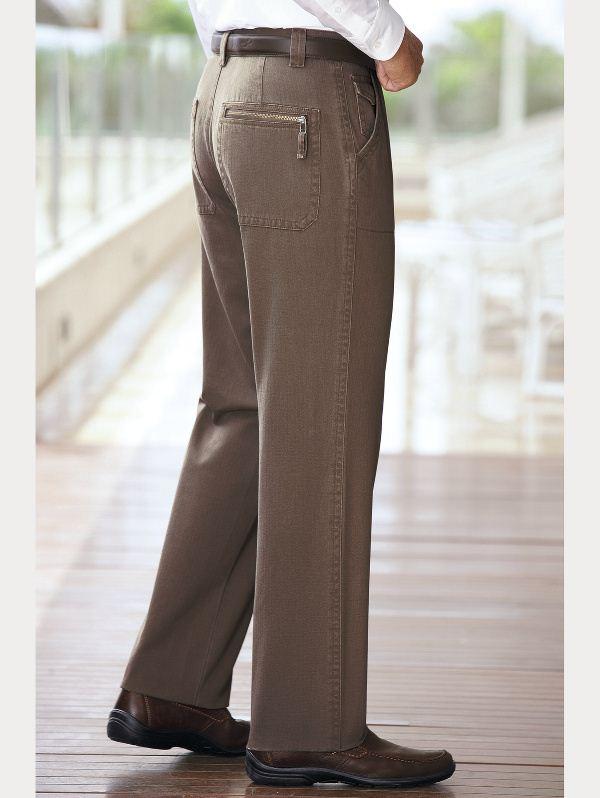Как постирать брюки