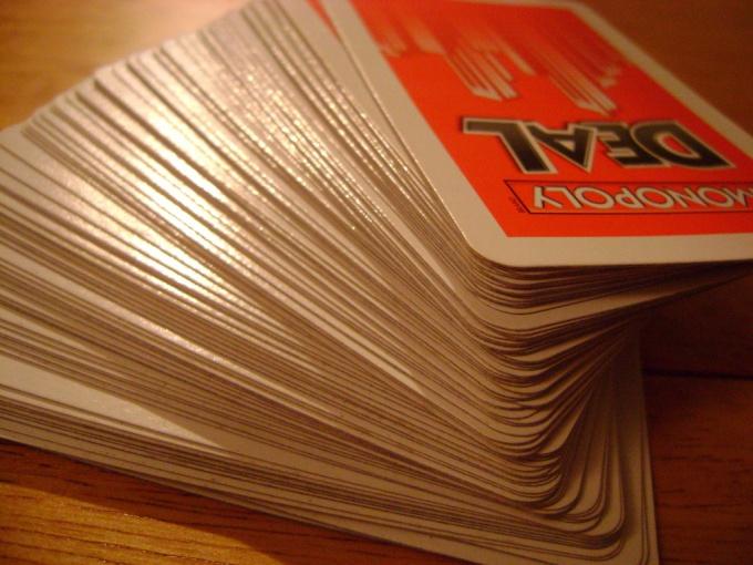 Как порвать колоду карт