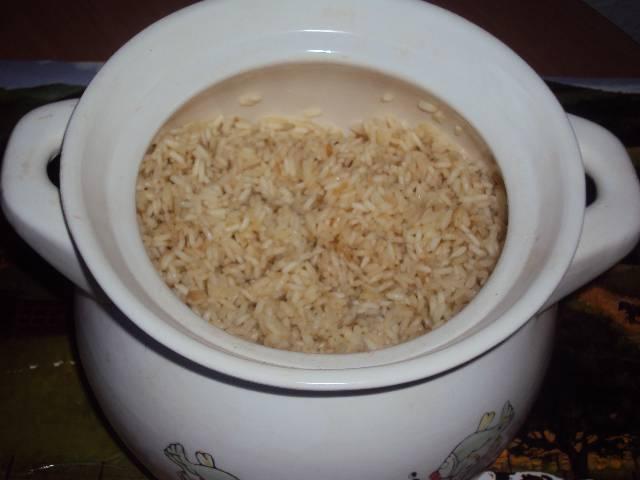 Как варить рис в аэрогриле