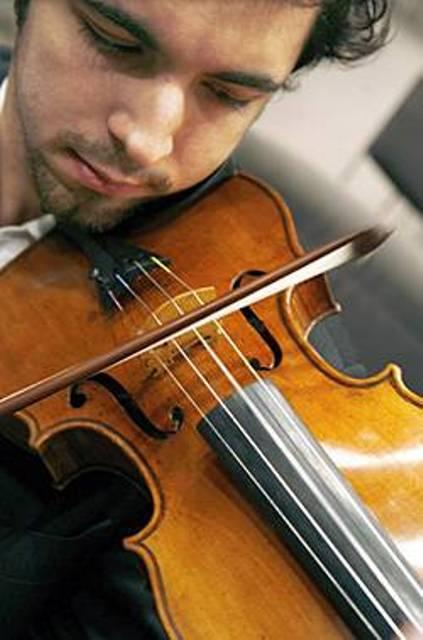 Как держать скрипку