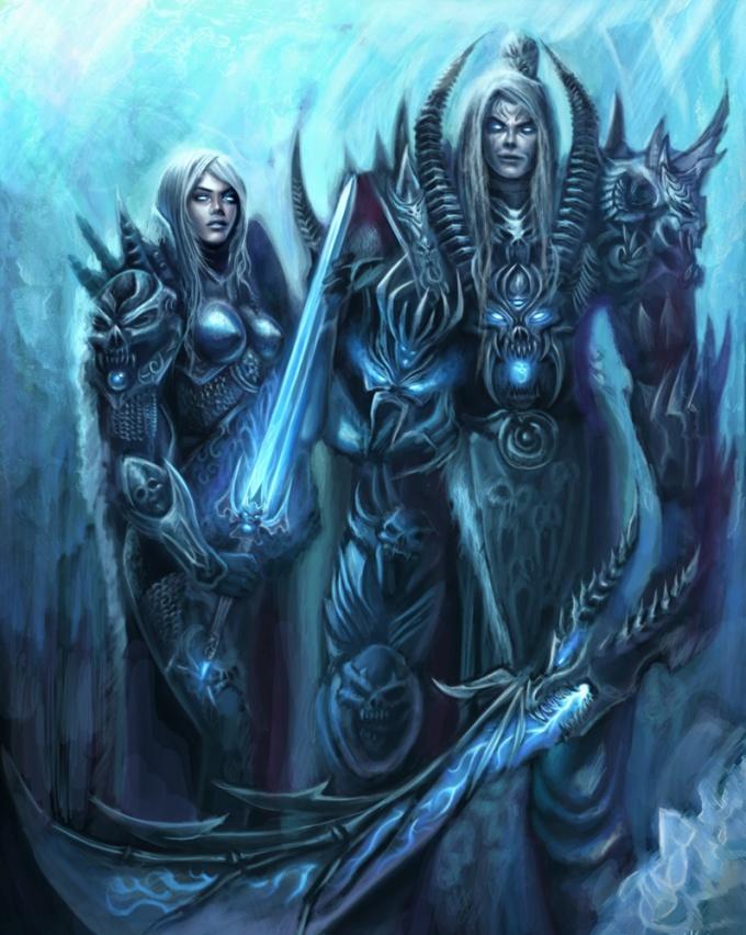 Как одеть Рыцаря смерти