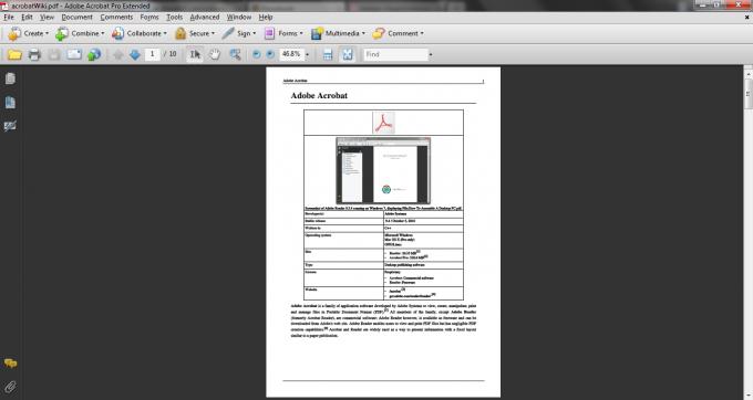 Как заполнить pdf документ