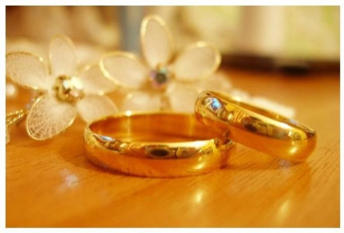 Как носить помолвочные кольца